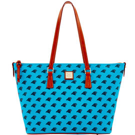 Panthers Zip Top Shopper