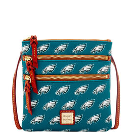 Eagles Triple Zip Crossbody