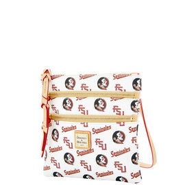 Florida State Triple Zip Crossbody