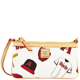 Diamondbacks Large Slim Wristlet