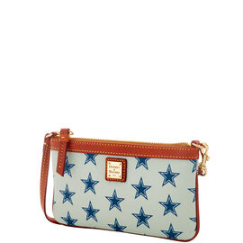 Cowboys Large Slim Wristlet