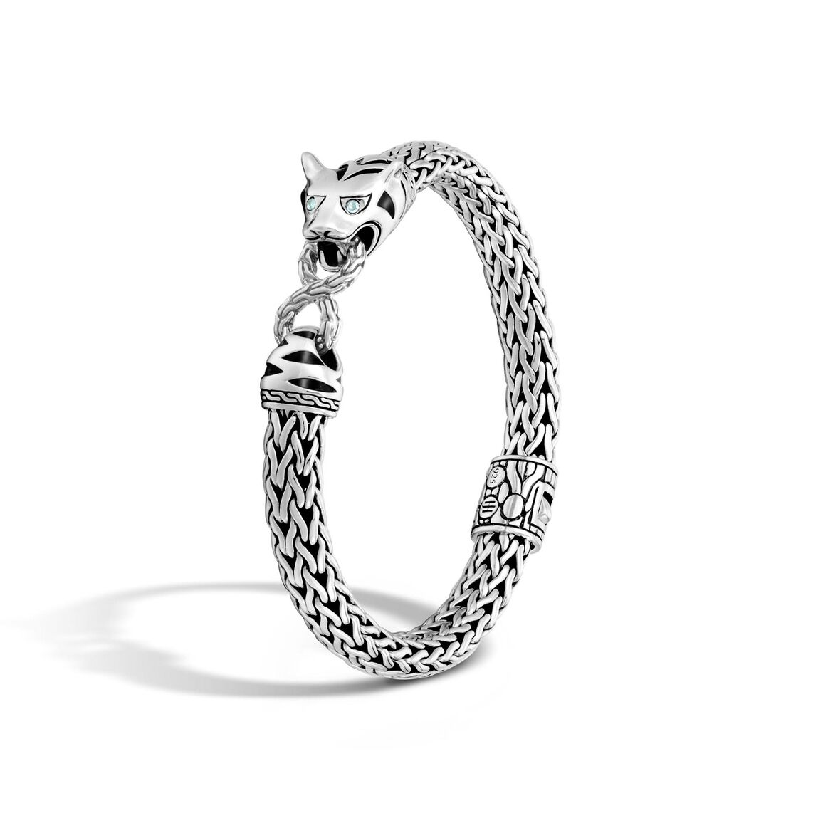 Legends Macan 7.5MM Station Bracelet in Silver