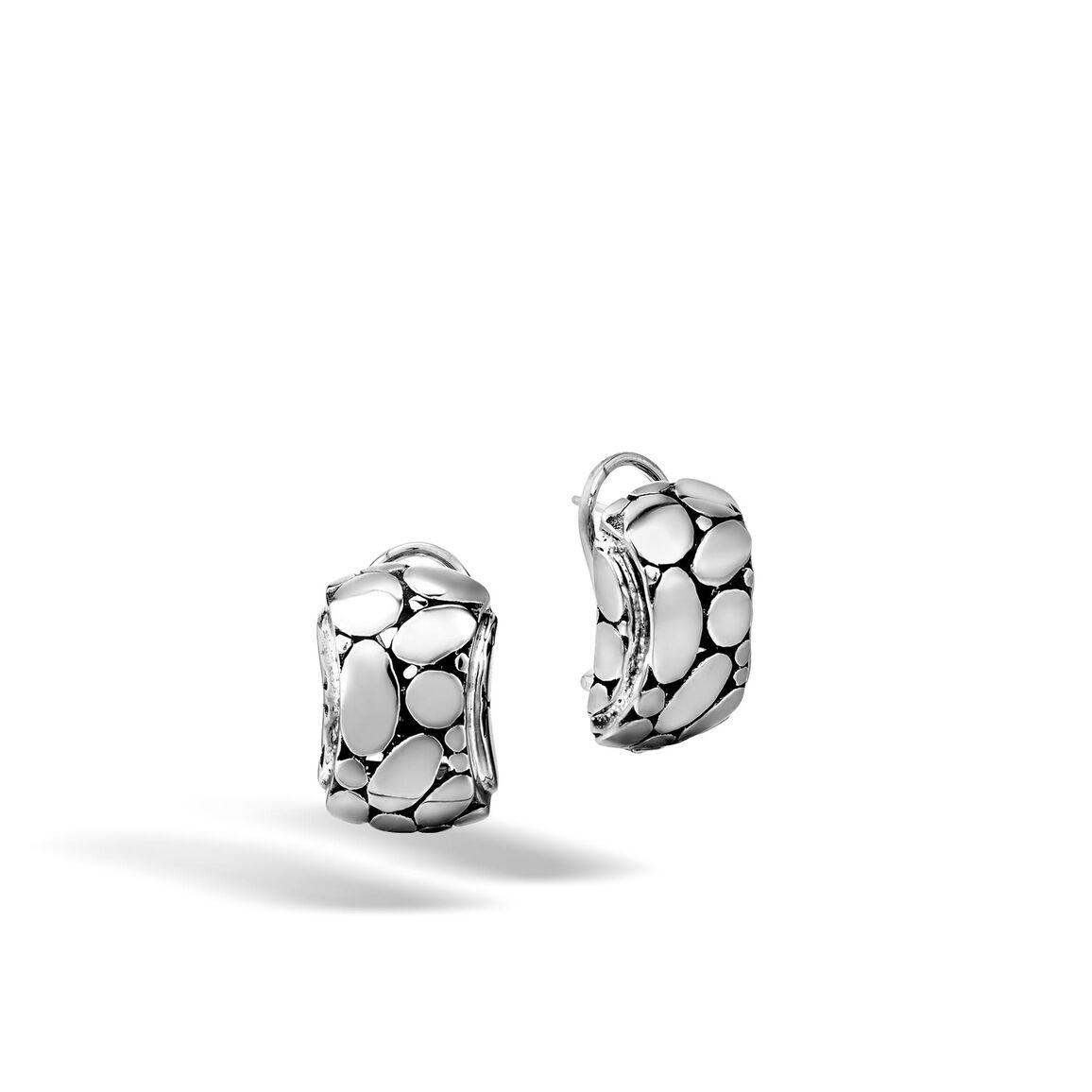 Kali Buddha Belly Earring in Silver