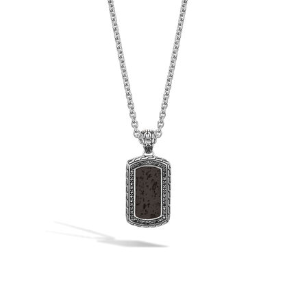 Classic Chain Dog Tag 30mmx18.5mm Pendant
