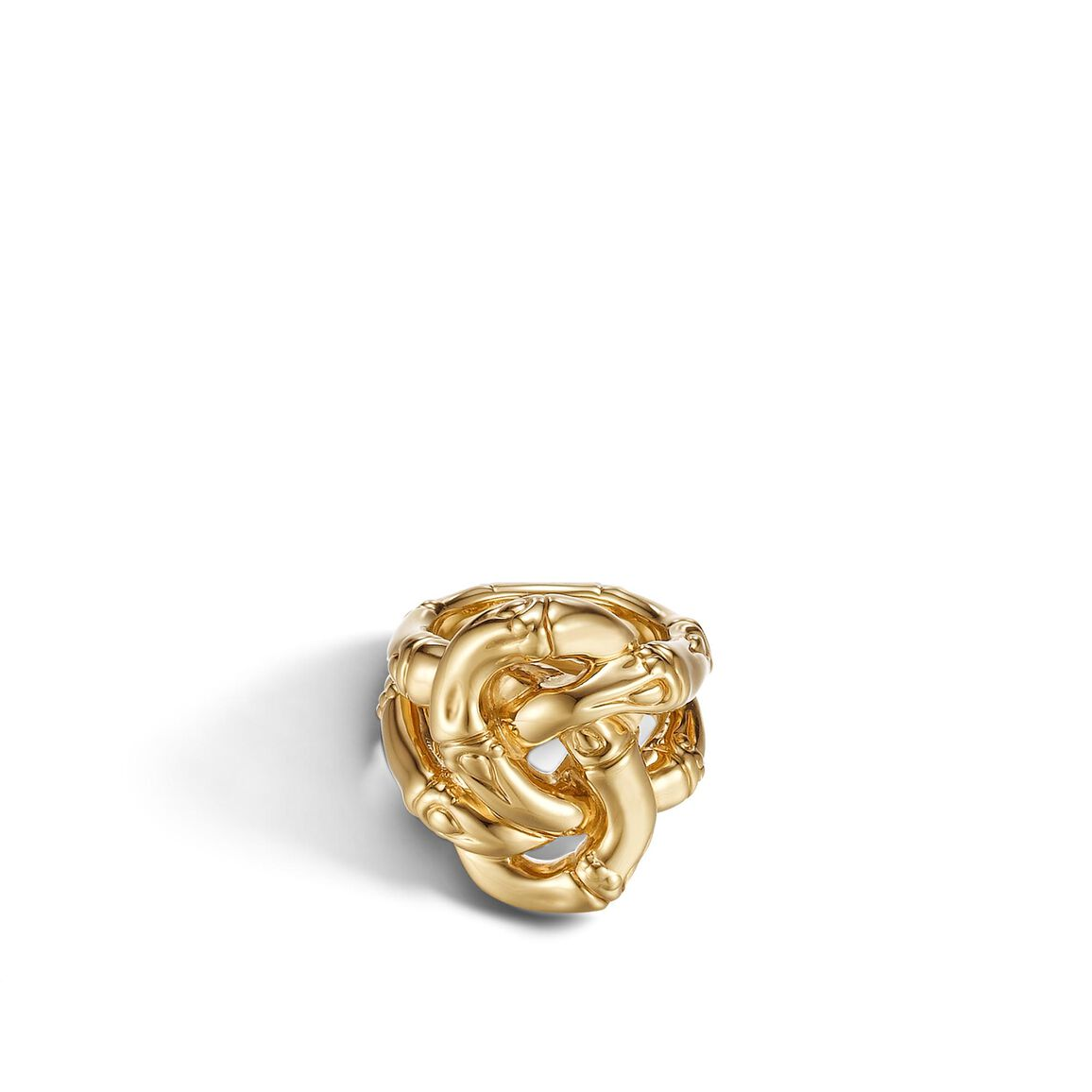 Bamboo Knot Ring in 18K Gold