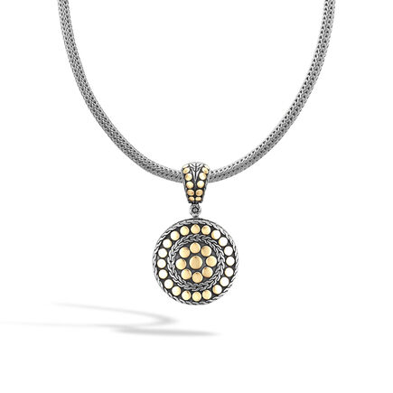 Dot Enhancer in Silver and 18K Gold