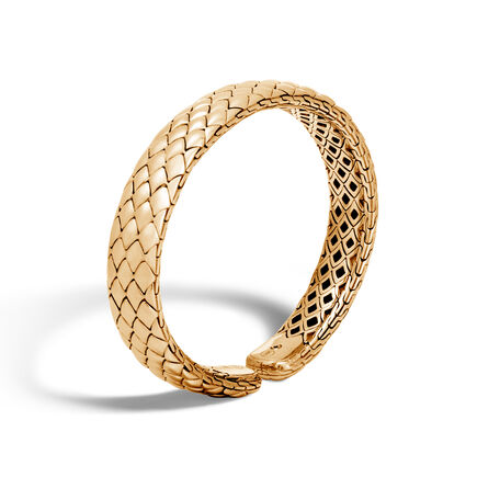Legends Cobra 11MM Cuff in 18K Gold