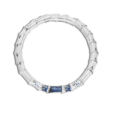 Necklace with Blue Sapphire