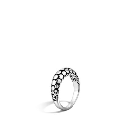 Dot 6MM Dome Ring in Silver