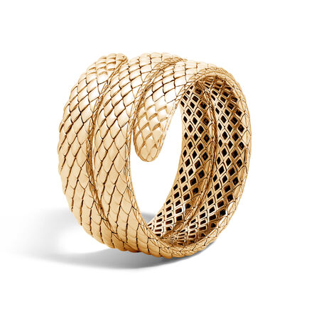 Legends Cobra Coil Bracelet in 18K Gold