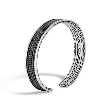 Chain Jawan 9MM Cuff in Blackened Silver