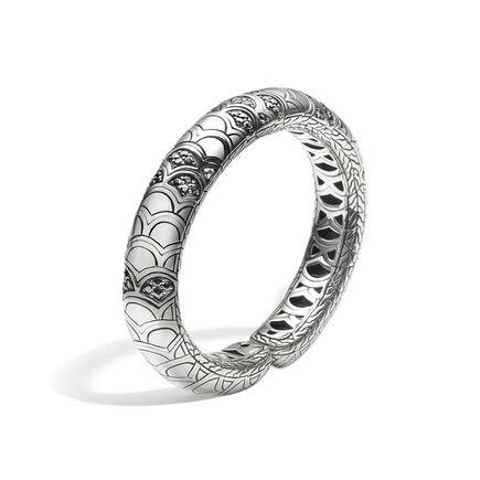 Legends Naga 12MM Cuff in Silver with Gemstone