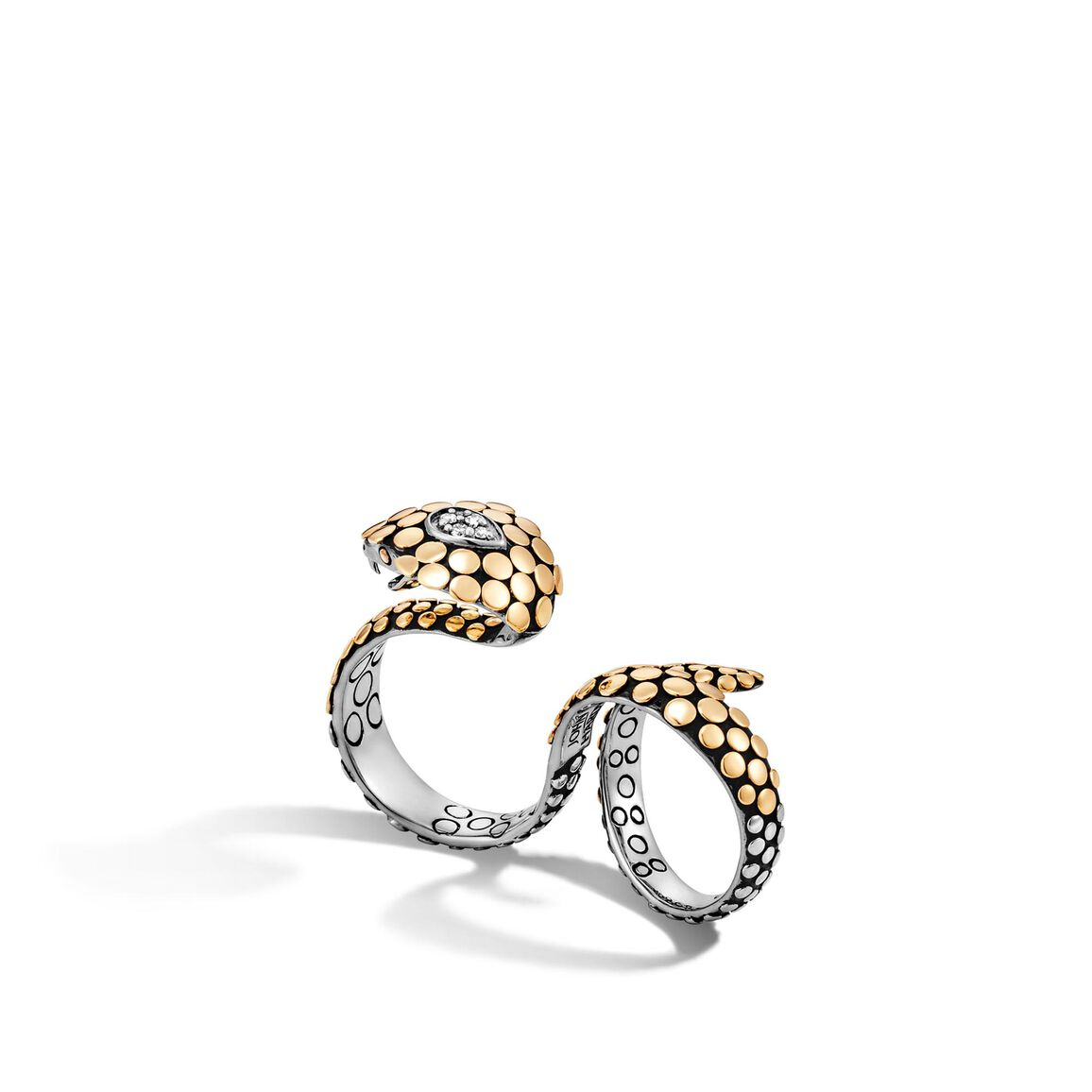 Dot (0.07ct) Knuckle Ring