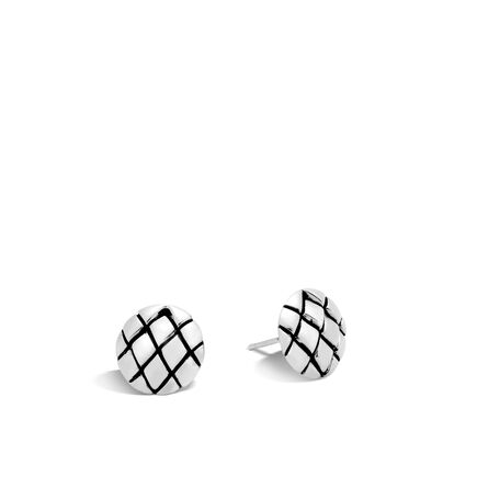 Legends Cobra Stud Earring in Silver