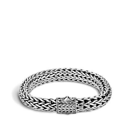 Classic Chain 11MM Bracelet in Silver