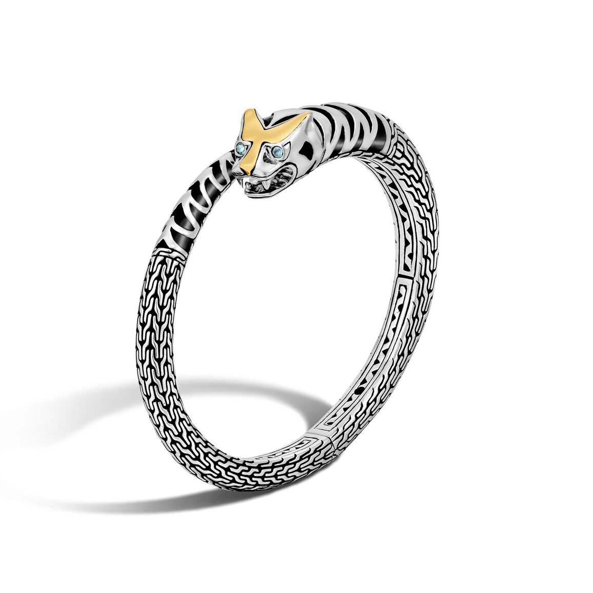 Legends Macan Kick Cuff in Silver and 18K Gold