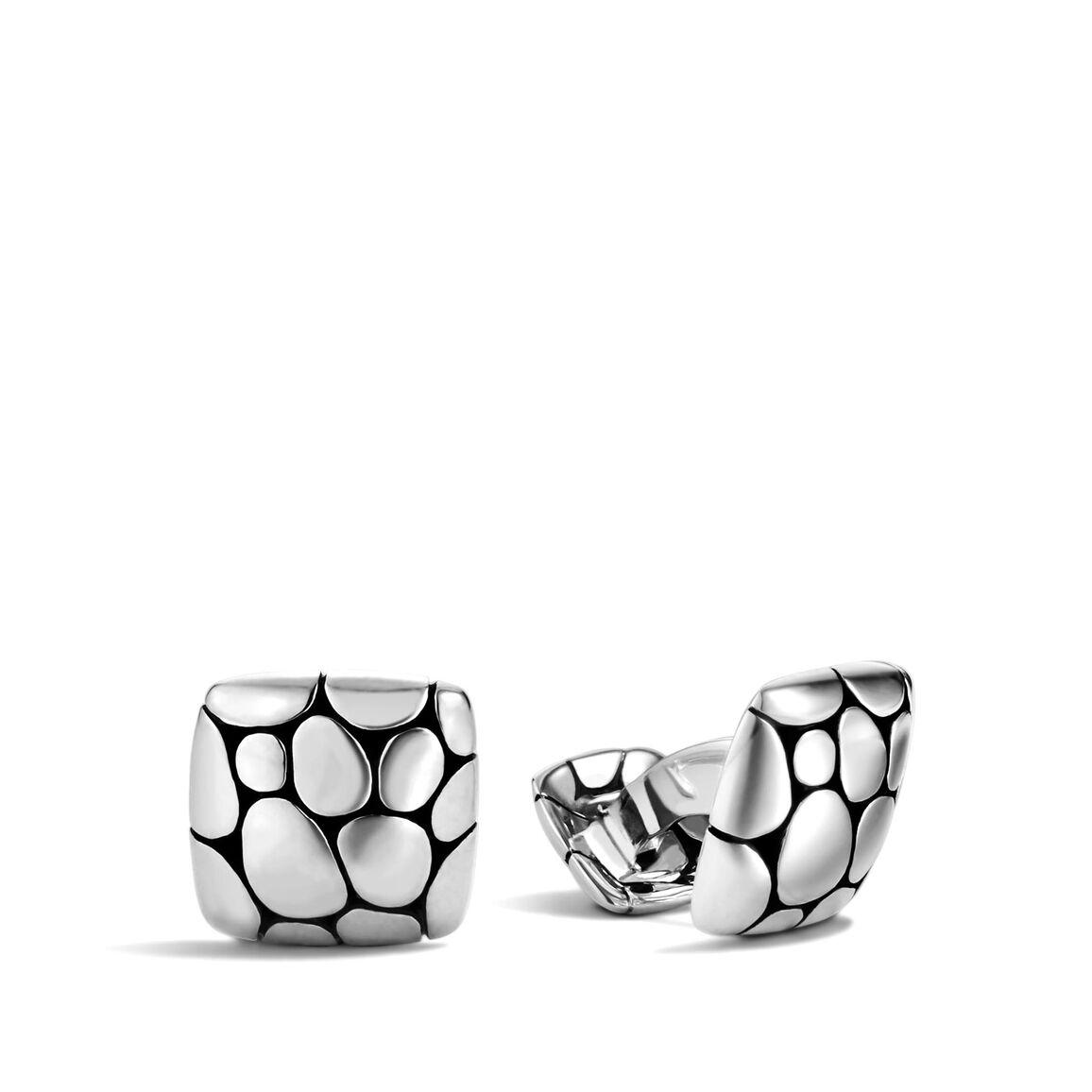Kali Cufflinks in Silver