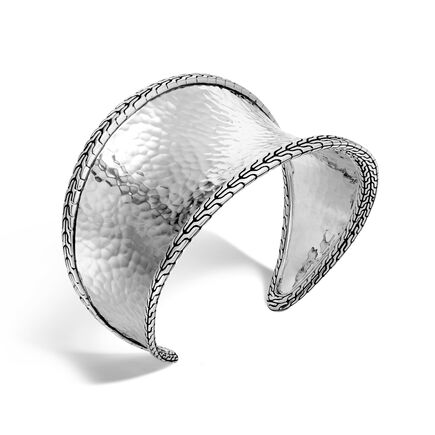 Classic Chain 43.5MM Cuff in Silver