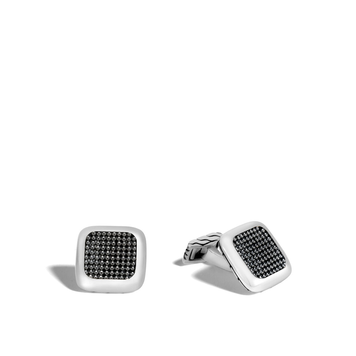 Chain Jawan Cufflinks in Silver