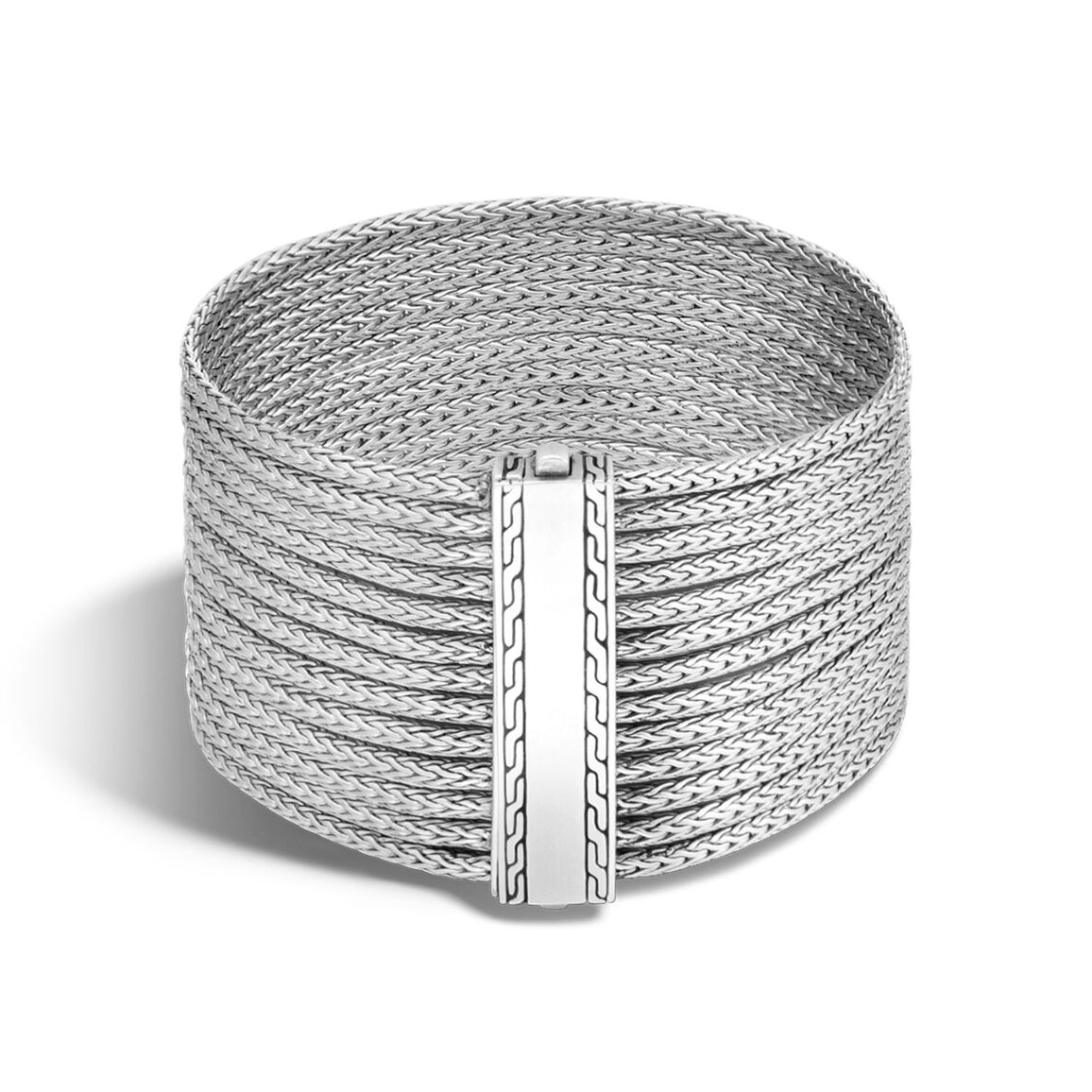 Classic Chain Thirteen Row Bracelet in Silver