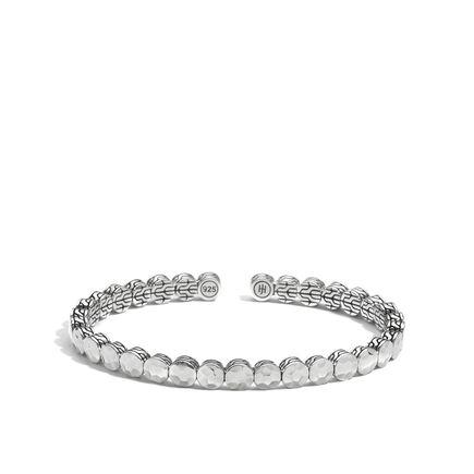 Dot 6MM Cuff in Silver