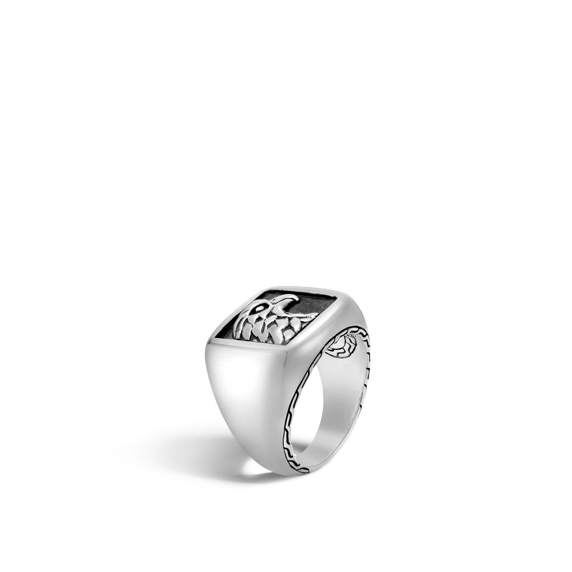 Legends Eagle Signet Ring in Silver