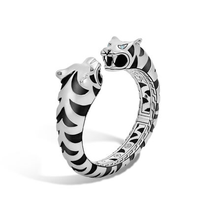 Legends Macan Double Head Kick Cuff in Silver