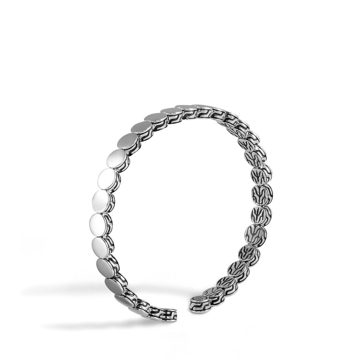 Dot 5.5MM Cuff in Silver