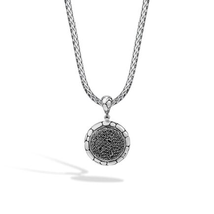 Kali Enhancer in Silver with Gemstone