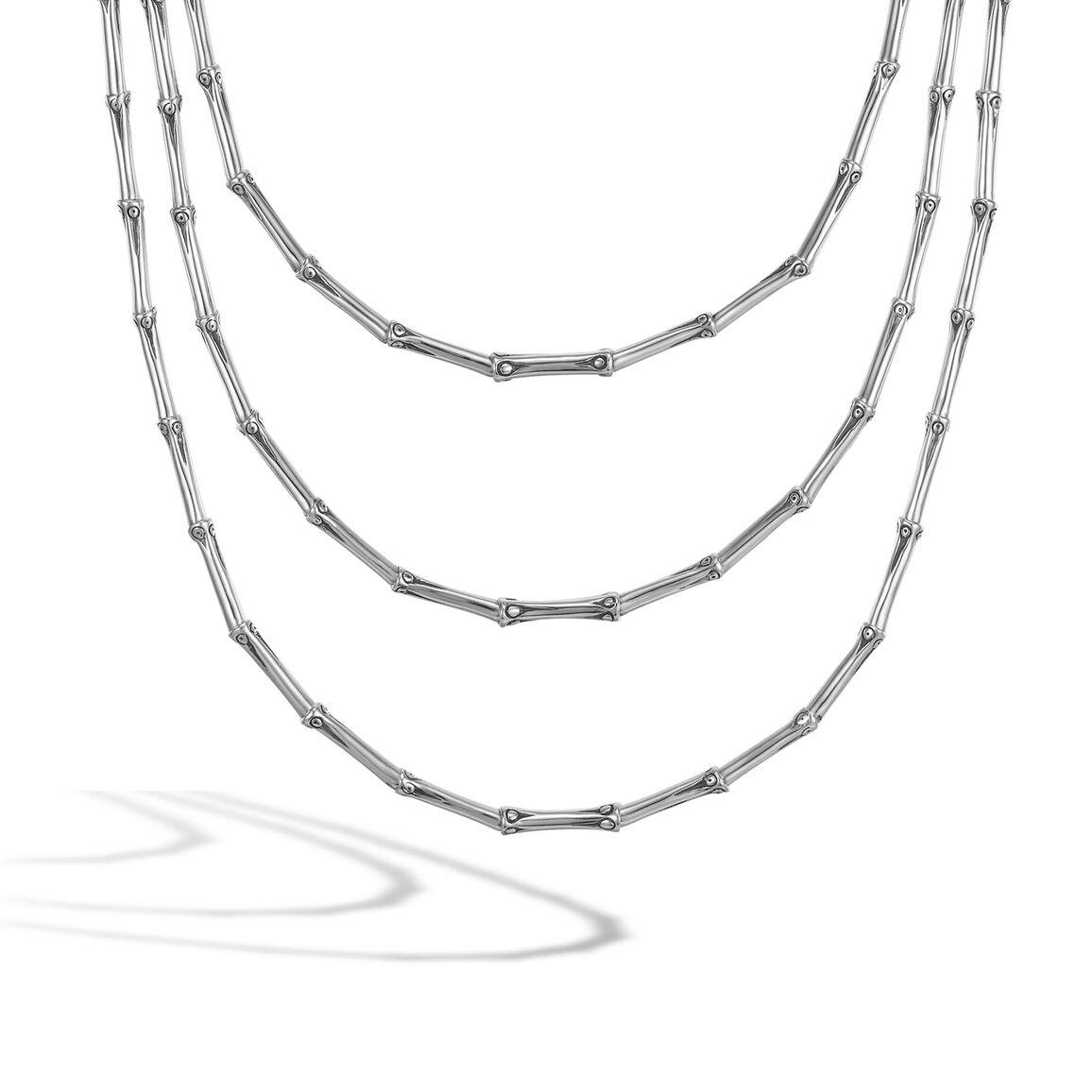 Three Row Necklace