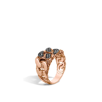 Ring with Brown Diamond