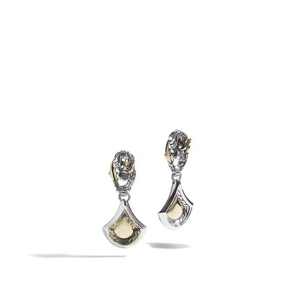 Naga Scale Drop Earrings