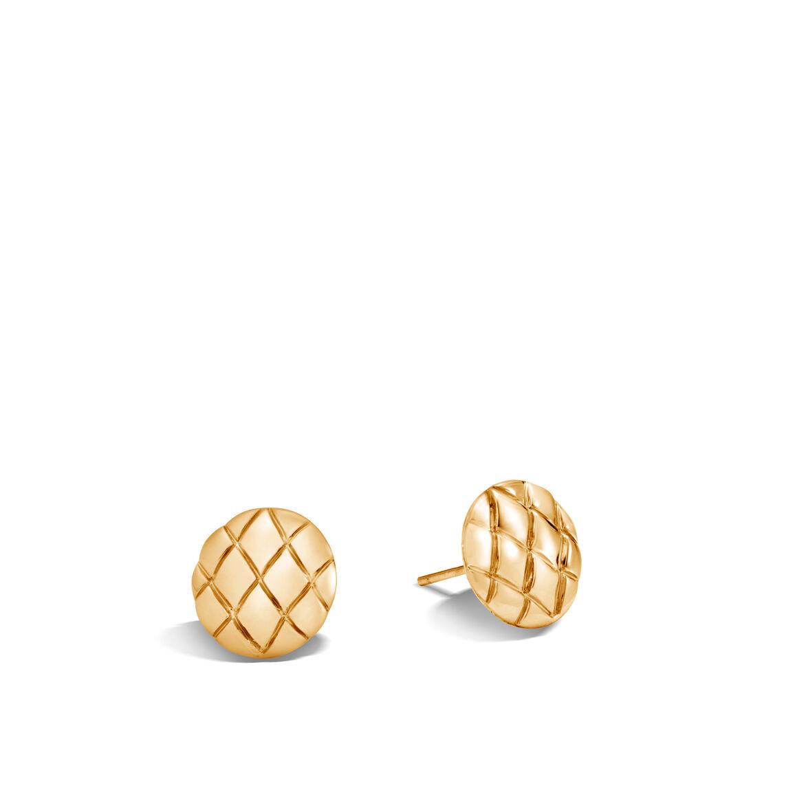 Legends Cobra Stud Earrings in 18K Gold