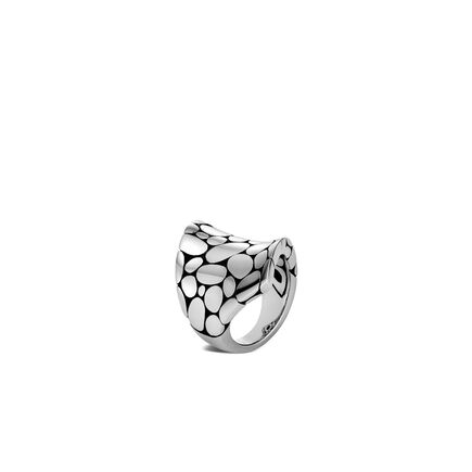 Kali Saddle Ring in Silver