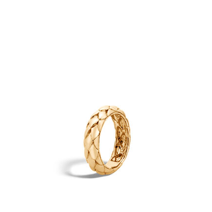 Legends Cobra 5MM Band Ring in 18K Gold