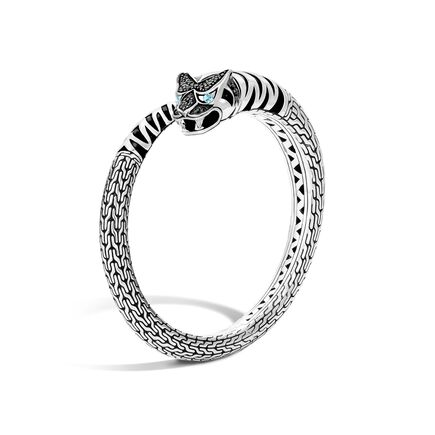 Legends Macan Kick Cuff in Silver with Gemstone