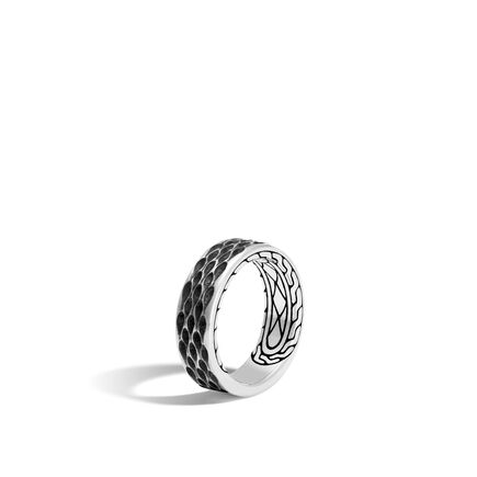 Legends Naga 7.5MM Band Ring in Silver