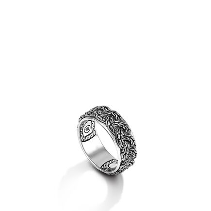 Classic Chain Braided Chain Band Ring