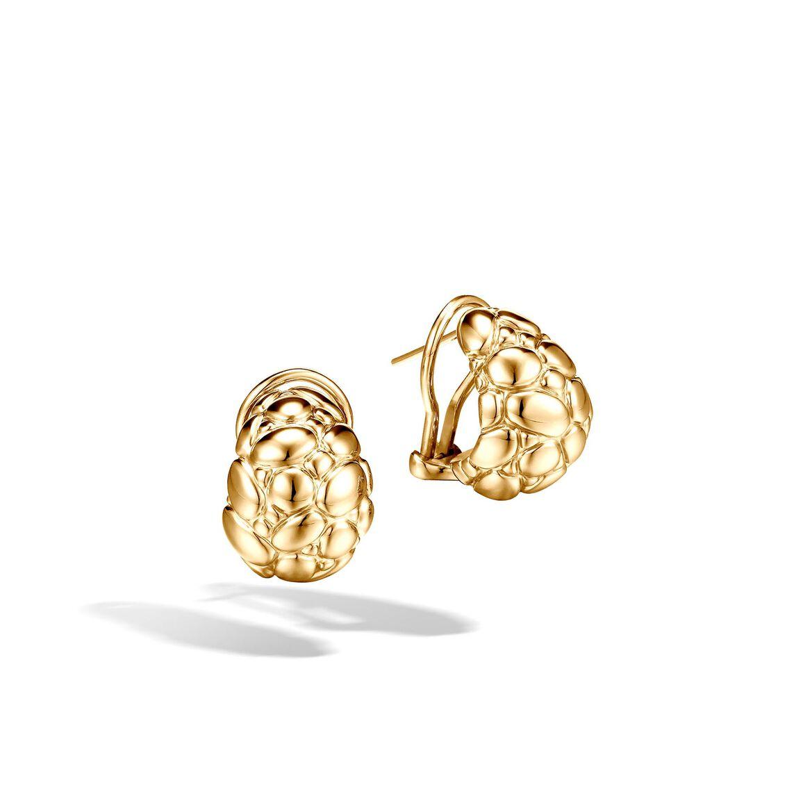 Kali Buddha Belly Earring in 18K Gold