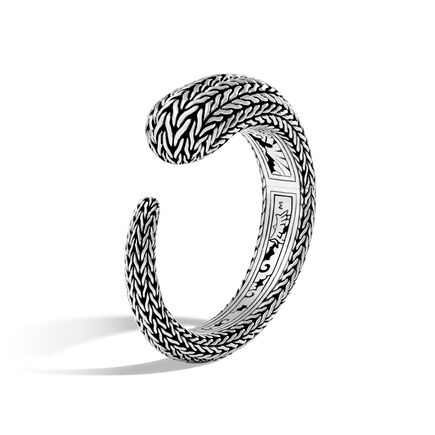 Classic Chain 18.5MM Kick Cuff in Silver