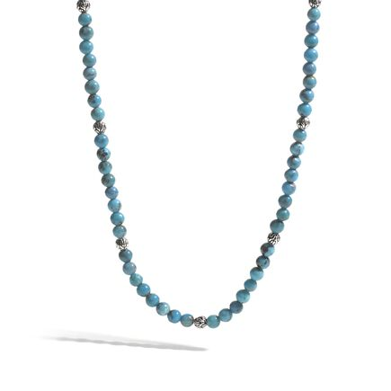 Classic Chain Round Beads Necklace