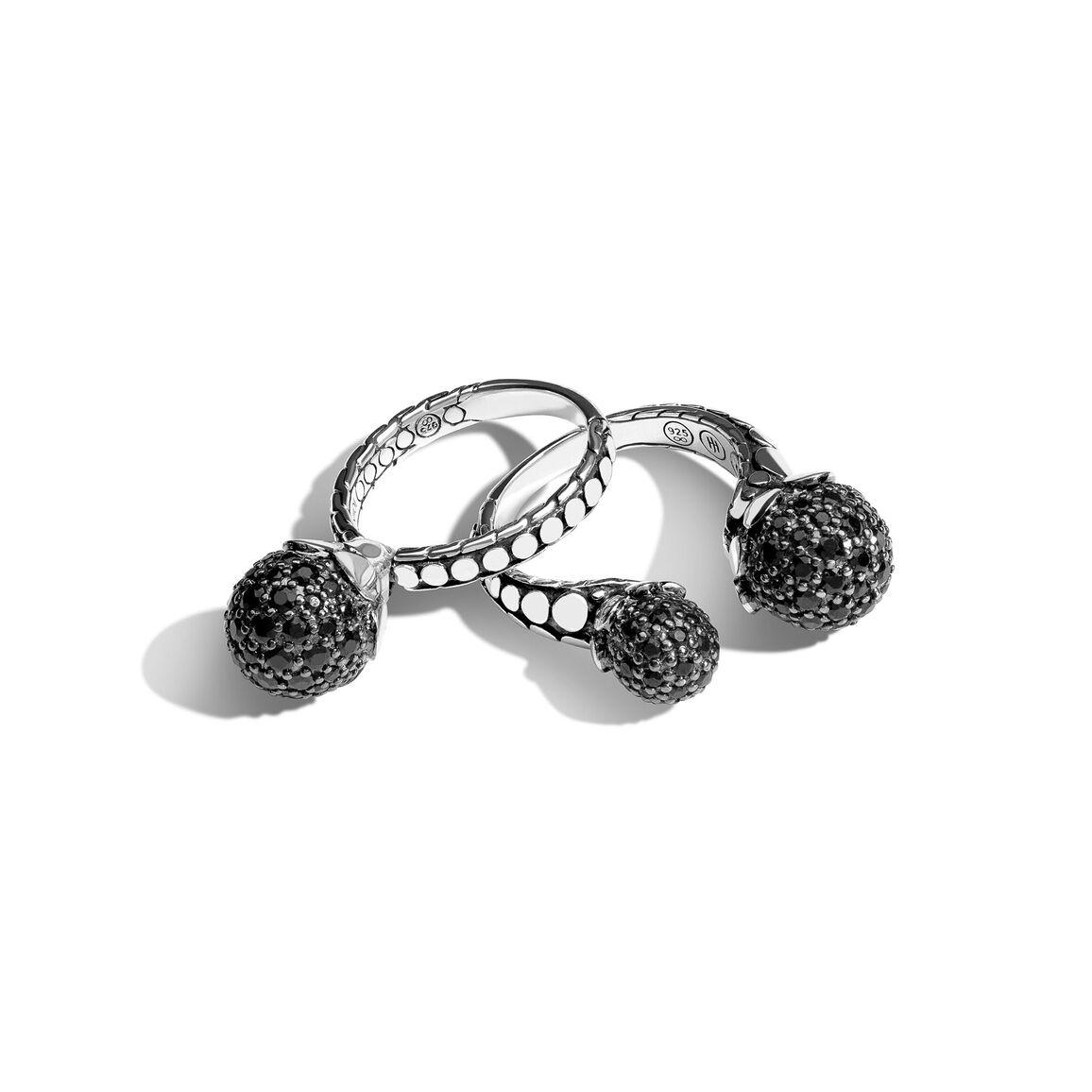 Dot Black Sapphire Ring Gift Set