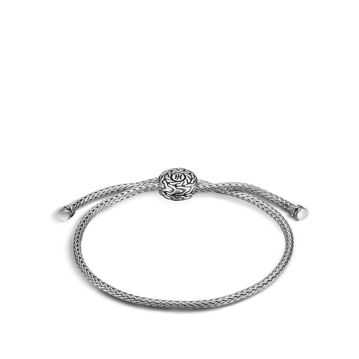 Classic Chain Pull Through Bracelet in Silver