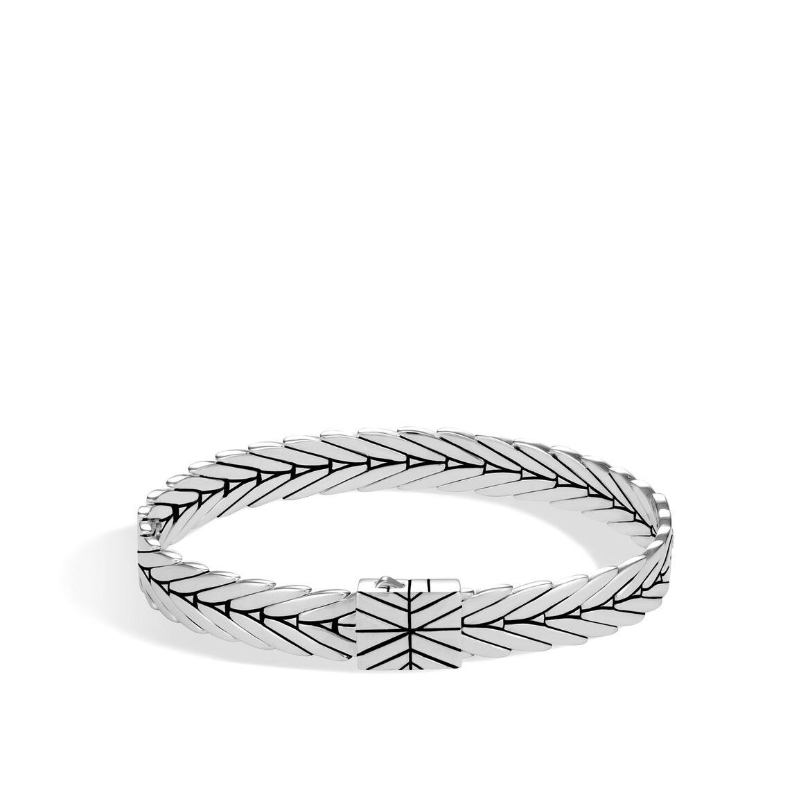 Modern Chain 8MM Bracelet in Silver