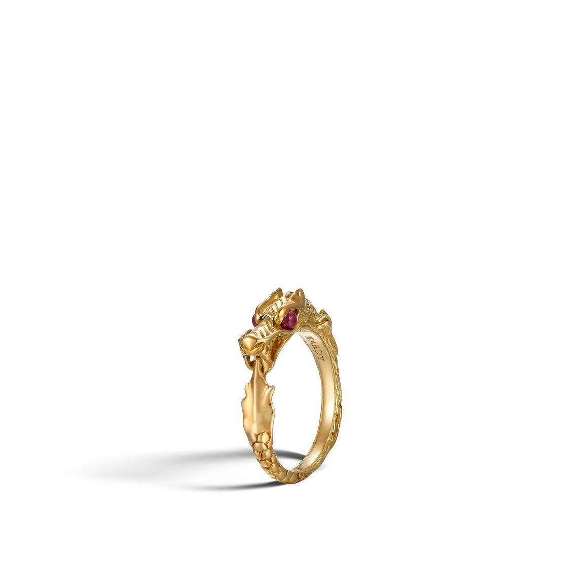 Legends Naga Ring in 18K Gold