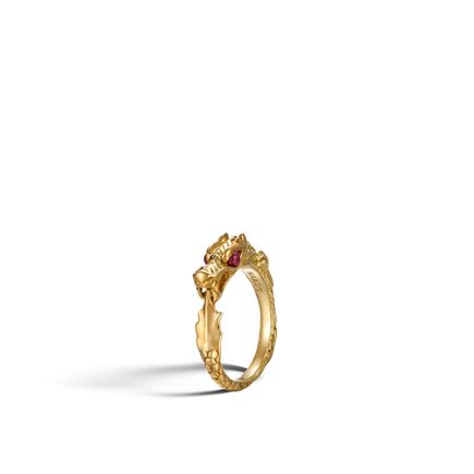 Legends Naga Ring in 18K Gold