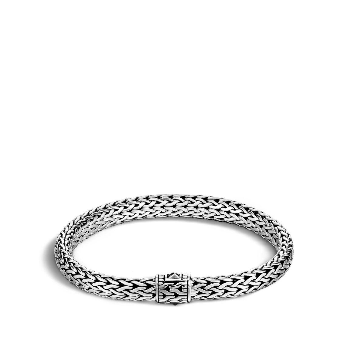 Classic Chain 7.5MM Bracelet in Silver