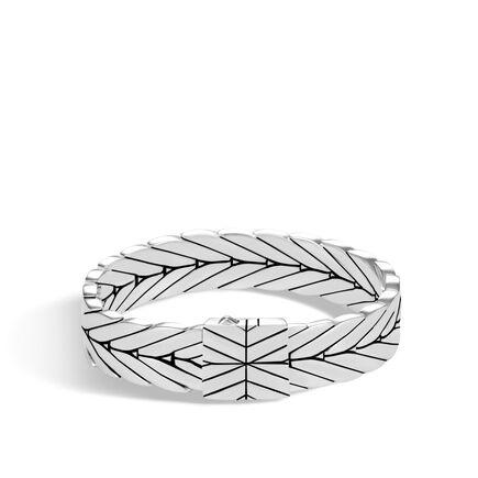 Modern Chain 13MM Bracelet in Silver