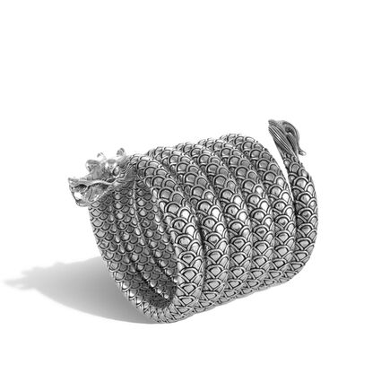Legends Naga Multiple Coil Bracelet in Silver