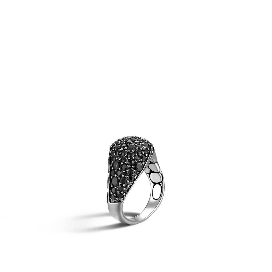 Kali Ring in Silver with Gemstone